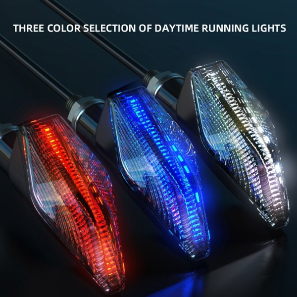 Motorcycle Streamer Warning Light Motobike General Bright LED Light