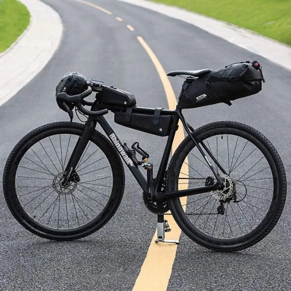 Bike Saddle Bag  MTB Road Bike Cycling Waterproof Rear Pack Panniers