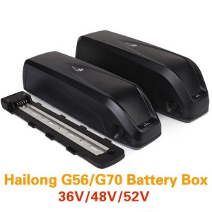 Electric Bike G56 G70 Battery Box HaiLong Battery Housing