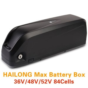 Ebike Battery Case HaiLong SSE-112 Battery Housing Downtube Lithium Battery Box with USB Port