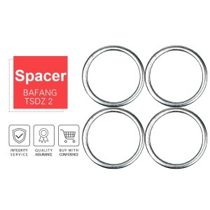 eBike Conversion Kit Parts Spacer 4 Pieces 9.6mm for Bafang BBS BBSHD TSDZ 2