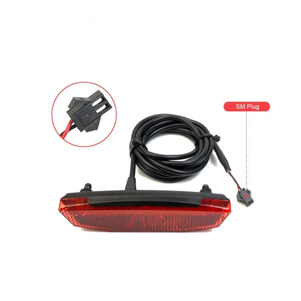 Electric Bicycle Tail Light Connected to Ebike Controller
