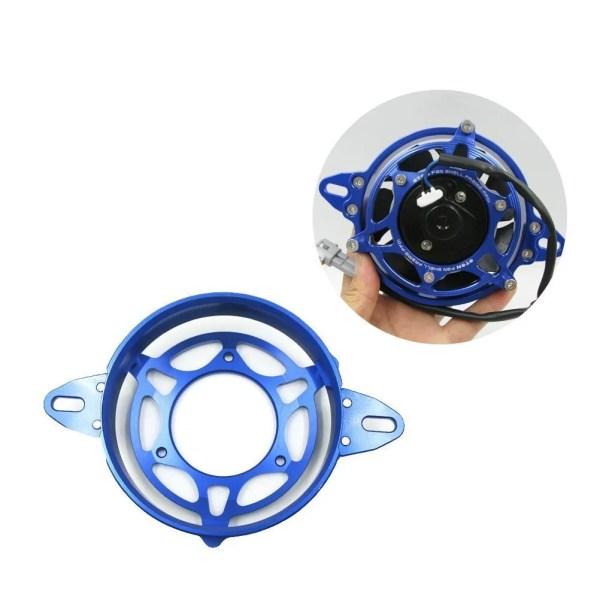 Motorcycle Fan Protection Frame Fan Bracket Cover Shell