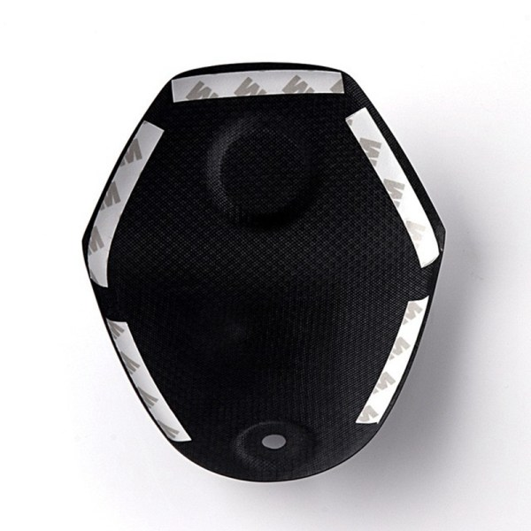 Motorcycle Accessories Carbon Fiber Handlebar Clamp Seat Cover For YAMAHA XMAX 300 XMAX300 2017 2018