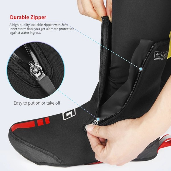 Outdoor Winter Warm Cycling Boot Shoe Covers Waterproof Overshoes Shoecover For Winter