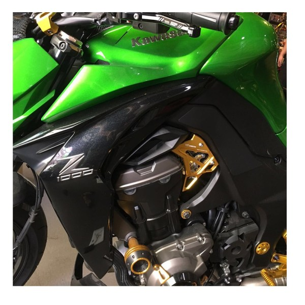 Fuel Injection Cover Injector Protector Guard For Kawasaki Z1000