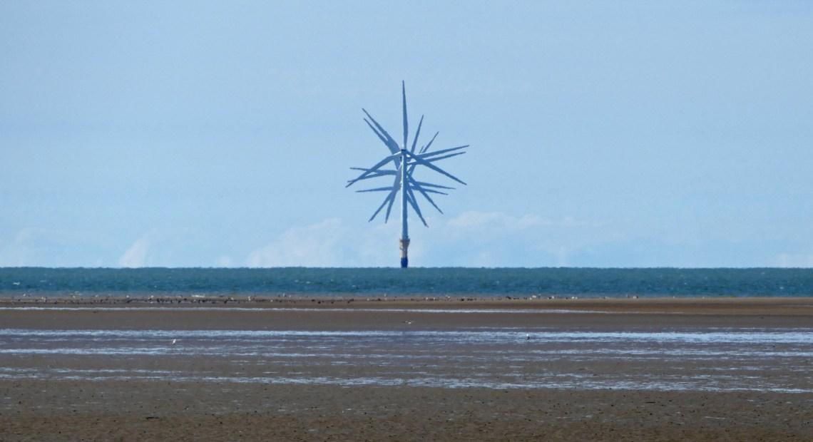 Větrný park v Severním moři
