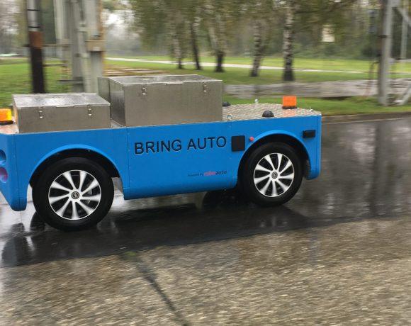 Experimentální vozítko společnosti BringAuto