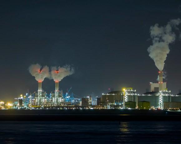 Elektrárna Maasvlakte 2 v Rotterdamu