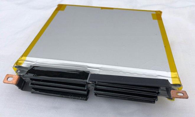 Prototypový článek společnosti Natron Energy (foto Natron Energy)