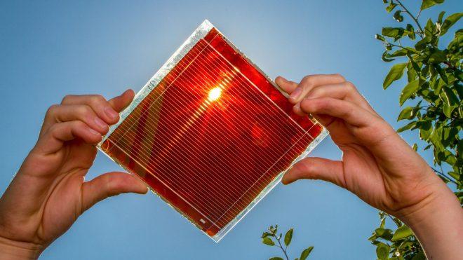 Perovskitový článek polsk firmy Saule Technologies(foto Saule Technologies)