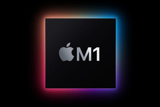 Čip M1 společnosti Apple (foto Apple)