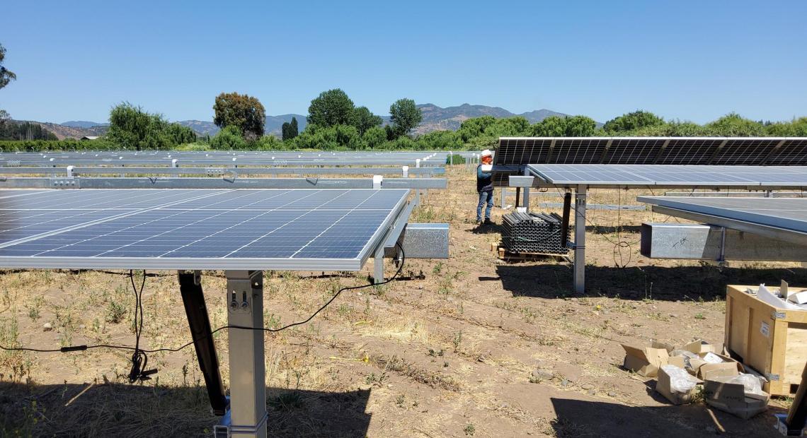 Chilský projekt společnosti SOLEK La Muralla