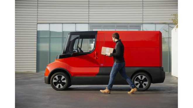 Experimentální dodávka EZ-Flex společnosti Renault určená právě pro dopravu na poslední míli
