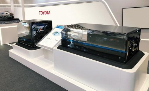 Vodíkový článek od společnosti Toyota (foto Toyota)