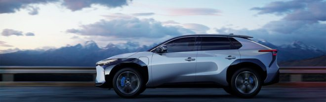 První čistý elektromobil značky Toyota (foto Toyota)
