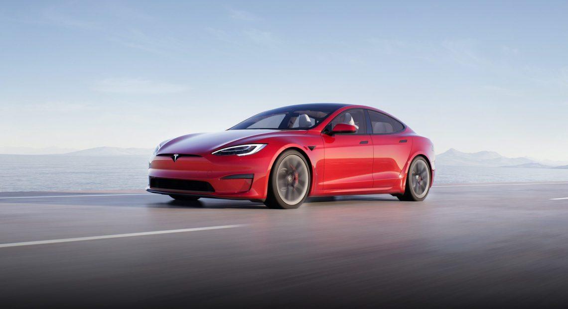 Tesla Model S (foto Tesla)