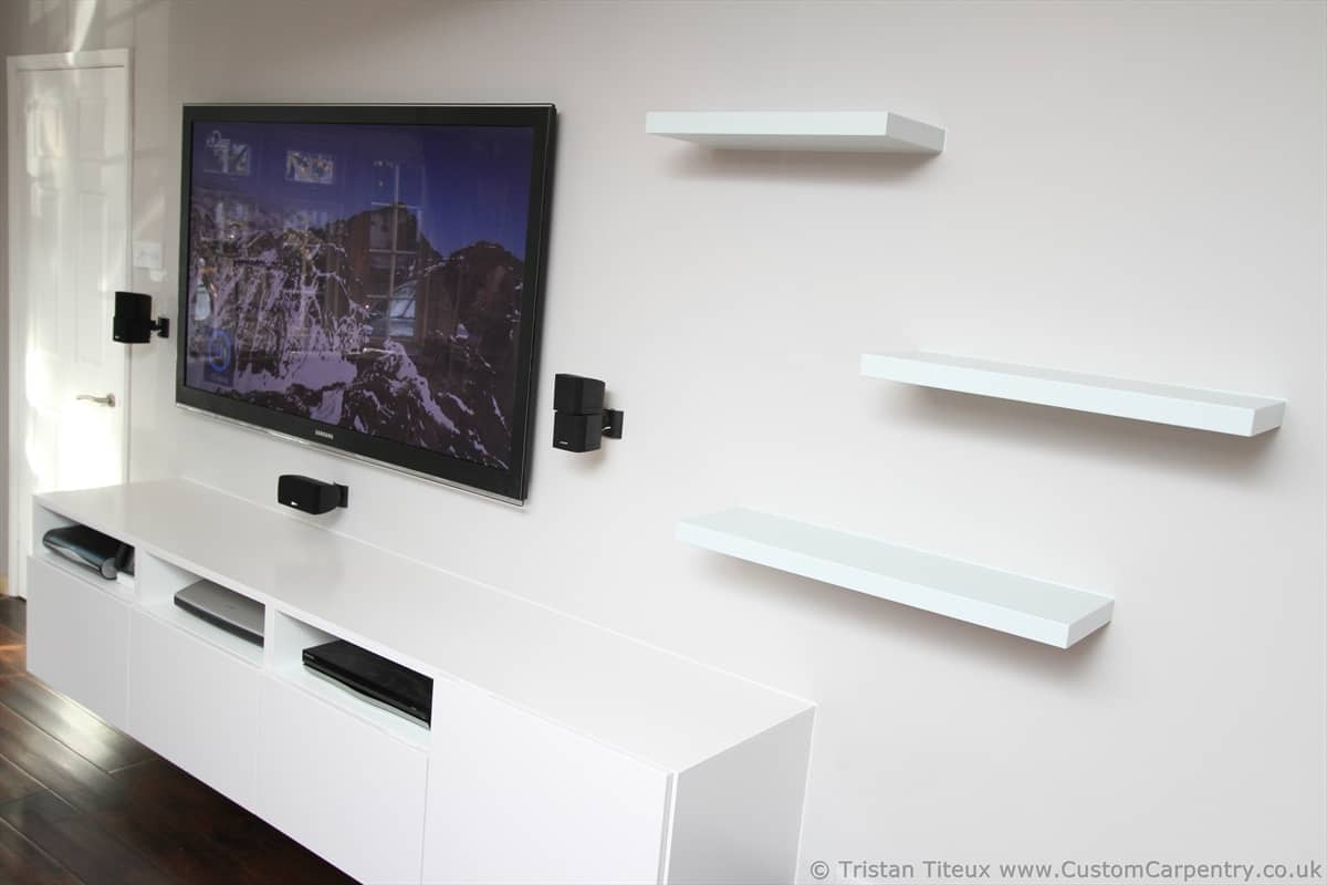 Fitted Floating Shelves