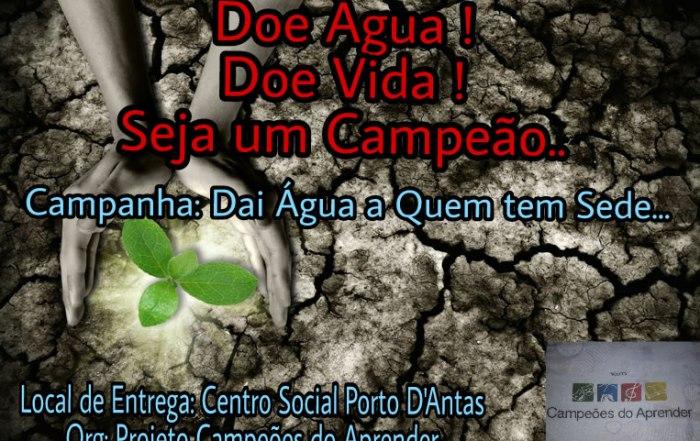 campanha dai agua