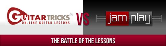 Guitar Tricks vs. Jamplay