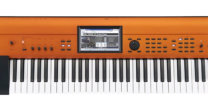 Korg Krome EX Copper Now Available