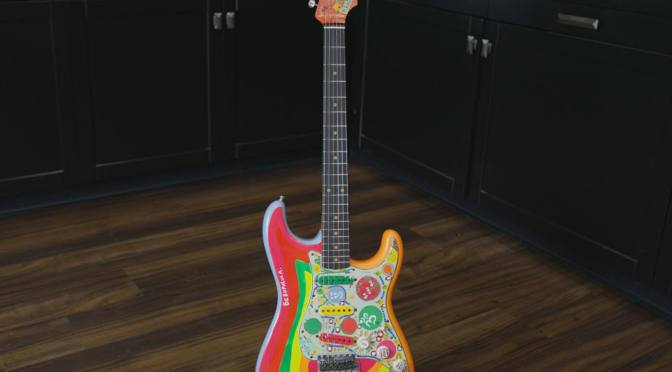 Fender launches Custom Shop recreation of George Harrison's Rocky Strat