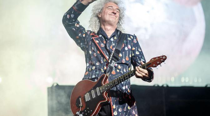 Brian May reveals the unlikely way the Red Special got its name