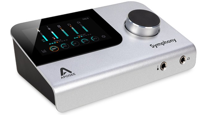 Apogee Symphony Desktop Audio Interface Now Shipping