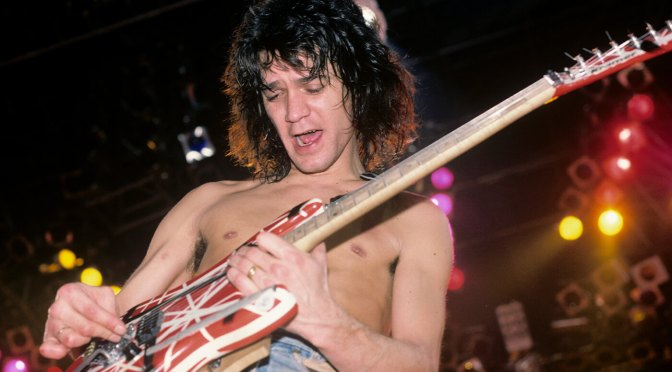 Two of Eddie Van Halen's iconic electric guitars are going up for auction