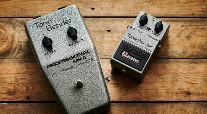 Boss partners with Sola Sound for the Waza Craft Tone Bender TB-2W