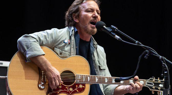 Listen: Eddie Vedder covers Bruce Springsteen's Growin' Up