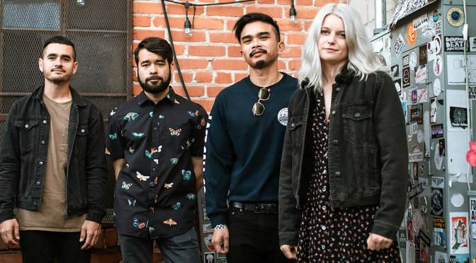 Meet Cuffed Up, the noisy LA quartet who want to call time on 'skeezy guitar dudes'