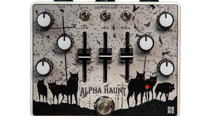 Old Blood Noise Endeavours gives the Alpha Haunt fuzz pedal a new look for 2021