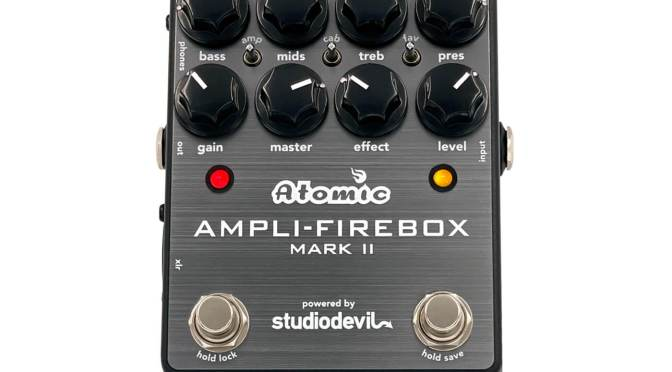 Atomic Amps updates the Ampli-Firebox to MkII