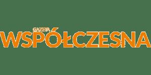 Grafika przedstawia logo Gazeta Współczesna