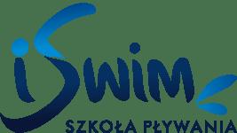 Grafika przedstawia logo iSwim Szkoła Pływania