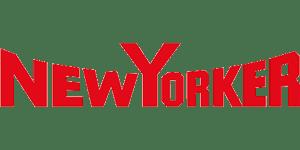 Grafika przedstawia logo NewYorker