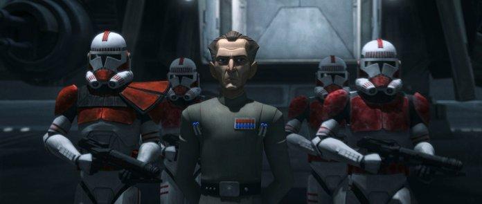 The Bad Batch Tarkin con Shocktroopers