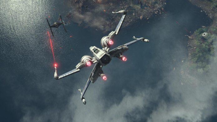 Star Wars X-Wing vs TIE-fighter