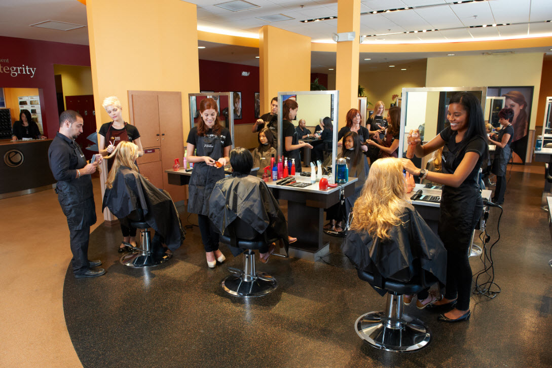 What kind of training does Empire Beauty School offer