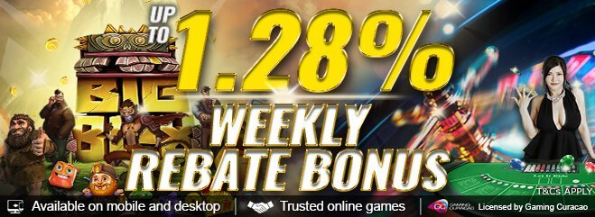 Malaysi Casino High Rebate Bonus