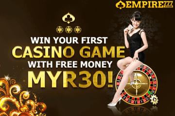 EMPIRE777 Casino's Free Credit Bonus
