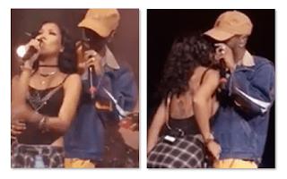 Jhene Aiko Big Sean Kiss, Divorces Husband Dot the Genius