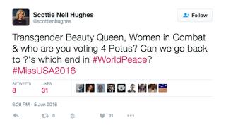 Scottie Nell Hughes Transgender?