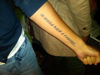 Jussie Smollett Tattoo