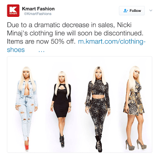 Nicki Minaj KMart