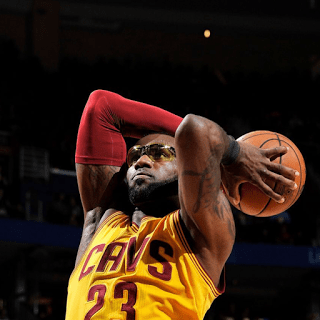 Why Was LeBron Wearing Goggles? James Glasses NBA Standings