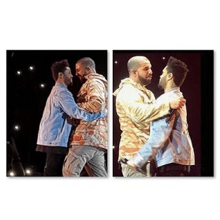 Drake Kiss The Weeknd?