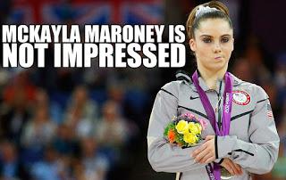 McKayla Maroney Not Impressed Meme