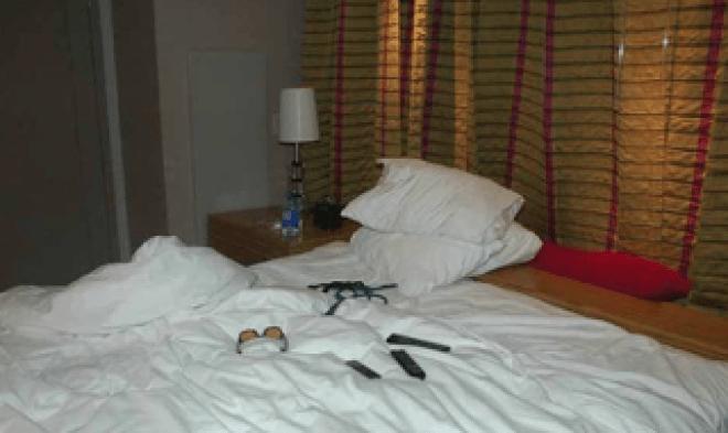 Chris Cornell Hotel Photos